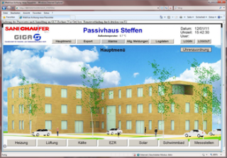 PcVue and Passivhaus, monitoring an ultra-low-energy building