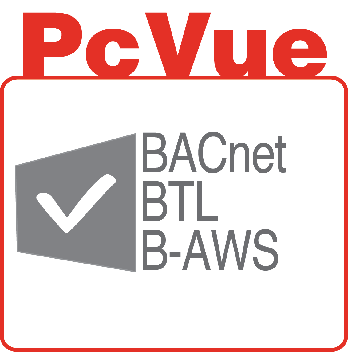 PcVue icon features bacnet btl aws
