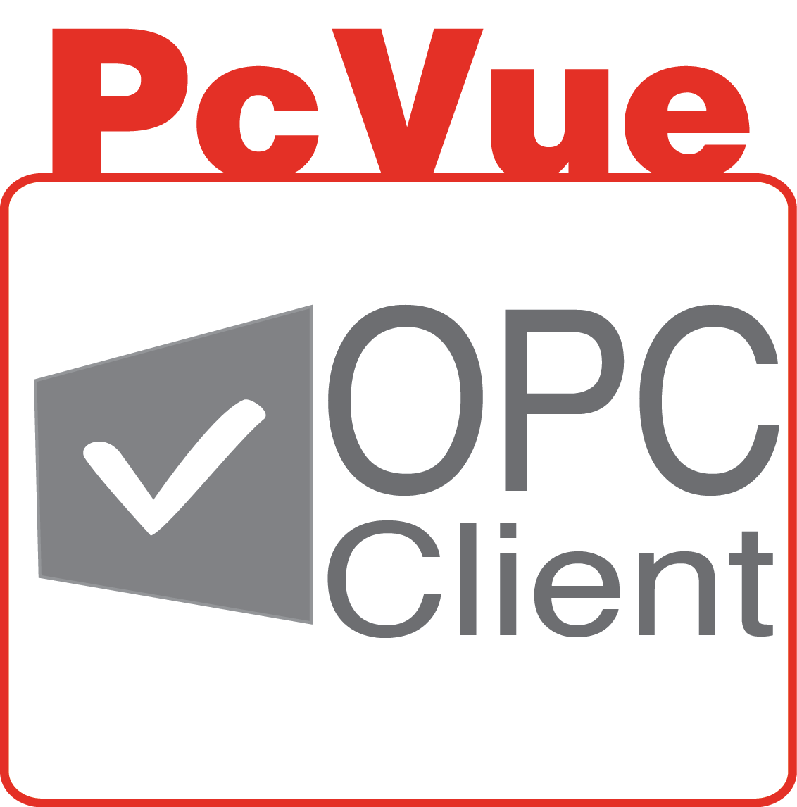 PcVue icon features OPC Client