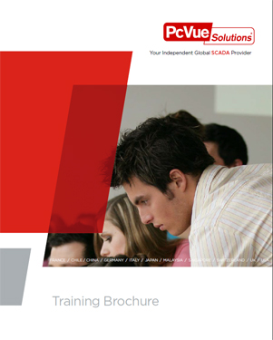 training icon brochure