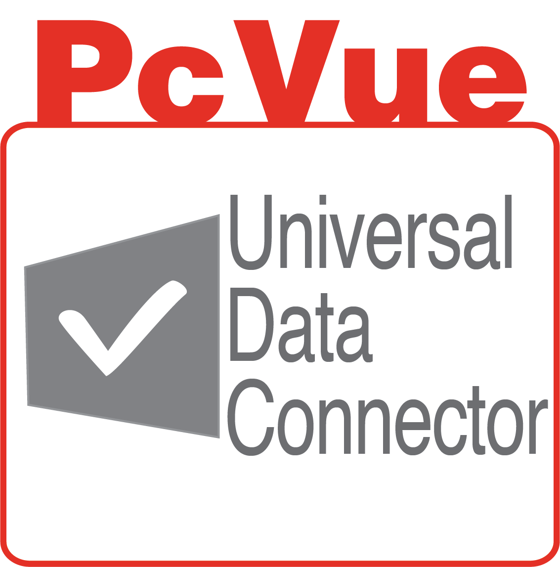 PcVue icon features Universal Data Connector