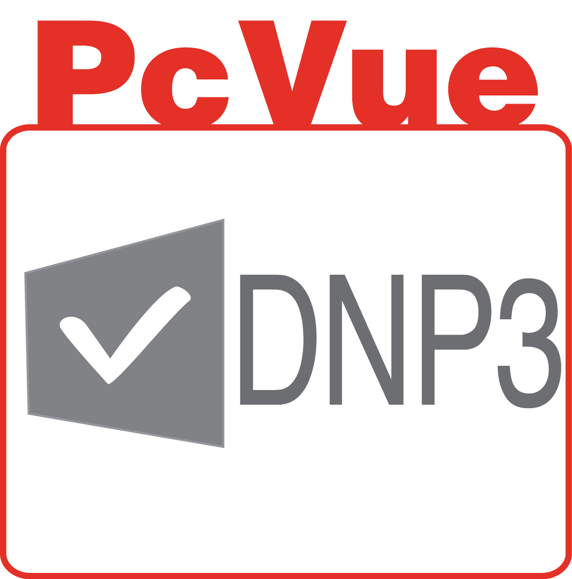 PcVue icon features DNP3
