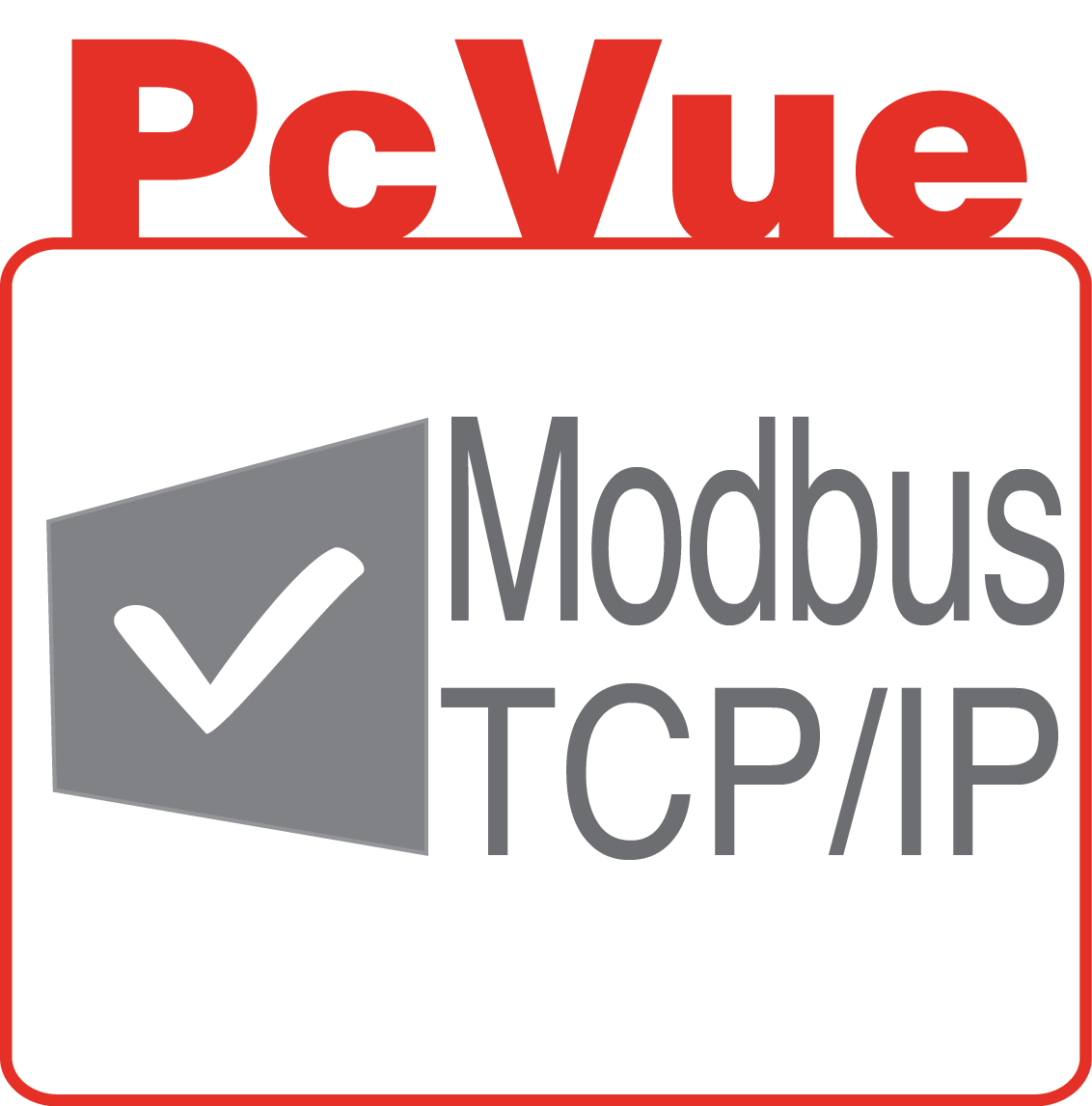 PcVue icon features Modbus TCP